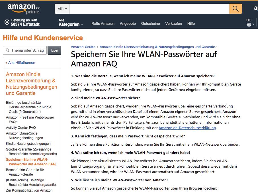 Im Informationsdschungel von Amazon (Hallo, Echo!) 11